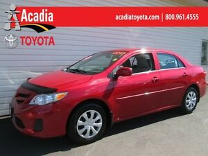 2013 Toyota Corolla CE Convenience Pkg - Keyless Entry, Bluetoot