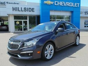 2015 Chevrolet CRUZE *RS|LEATHER|SUNROOF|TURBO*