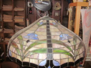 Nice Tiffany Style Stained Glass Hanging Ceiling Light