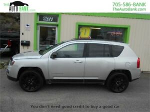 2013 Jeep Compass Sport AWD| MOONROOF| ALLOYS| HEATED SEATS