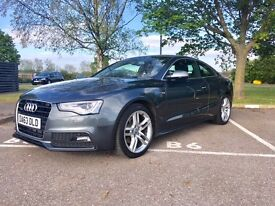 Audi A5 Coupe - 2.0 S-Line Quattro (2014) - Daytona Grey. Private seller.