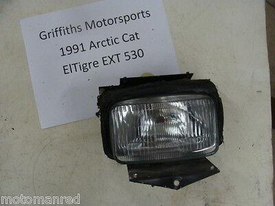 91 ARCTIC CAT 530 EXT ELTIGRE 92 90 headlight head light bulb lens mount springs