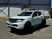 2015 Mitsubishi Triton MN MY15 GLX Double Cab 4x2 White 5 Speed Manual Utility Mile End South West Torrens Area Preview