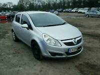 Vauxhall corsa d 1.4 petrol z14xep breaking for spares 07-11