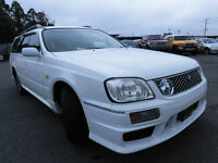 1999 JDM Nissan Stagea RSfour-S Turbo, AWD, manual, Clean!