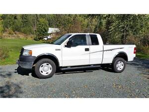 2007 F-150 4X4 XL S/BOX, S/CAB. REDUCED TO $8,900 CLEAN TRUCK!