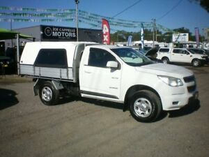 2013 Holden Colorado RG LX (4x2) White 6 Speed Automatic Cab Chassis Heatherbrae Port Stephens Area Preview