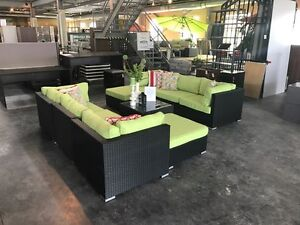 XL FLORENCE SET- GREEN Sectional sofa