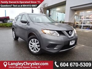 2016 Nissan Rogue S *ACCIDENT FREE * LOCAL BC CAR *