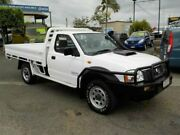 2014 Nissan Navara D22 S5 DX White 5 Speed Manual Cab Chassis Archerfield Brisbane South West Preview