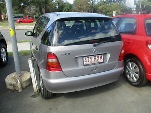 2001 Mercedes-Benz A160 W168 MY2001 Classic Grey 5 Speed Automatic Hatchback Bray Park Pine Rivers Area Preview