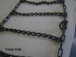 SKID STEER TIRE CHAINS- PLUS $50 LABOUR COUPON