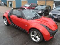 £1395 smart car roadster 2005 05,reg 700cc convertable f/s/h good runner/condition px/welcome