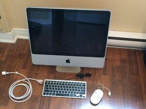 """Mac 20"""" à vendre, négociable"""