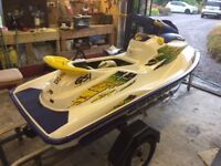 SEADOO JET SKI , ONLY 18 HOURS FROM NEW , AS NEW CONDITION, FULLY SERVICED , READY TO TOW AWAY