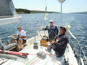 Learn to Sail Live aboard Cruising Lessons. Sail Canada
