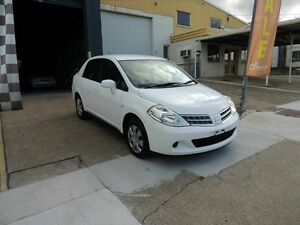 2011 Nissan Tiida C11 S3 ST White 4 Speed Automatic Sedan Yeerongpilly Brisbane South West Preview