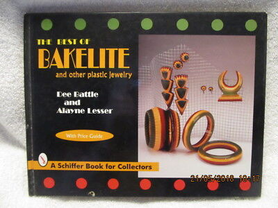 Vtg. Book Best of Bakelite & Other Plstic Jewelry With Price Guide 1996 Edition