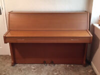 Challen Piano (1970s) in need of tuning. Free to anyone who can collect (Stockwood).