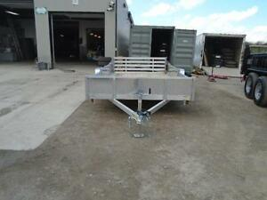 SIDE LOADING ATV/ALL PURPOSE ALUMINUM TRAILER 12' LONG ATP SIDES London Ontario image 3