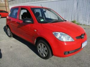 2006 Mazda 2 Red Manual Hatchback West Perth Perth City Area Preview