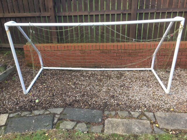 White Plastic Goals - 5 a side