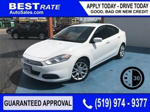 DODGE DART SXT - APPROVED IN 30 MINUTES! - ANY CREDIT LOANS