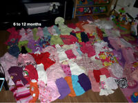 6-12 months Baby Girl Clothing