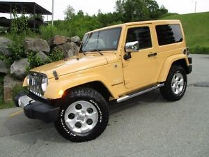 2014 Jeep WRANGLER Sahara (AUTO TRANS, HEATED LEATHER SEATS, HAR