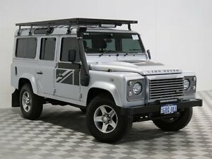 2013 Land Rover Defender MY13 110 (4x4) Silver 6 Speed Manual Wagon Jandakot Cockburn Area Preview