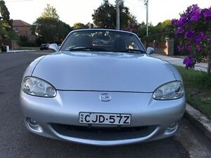 2003 Mazda MX-5 NB30P3 Silver 4 Speed Automatic Softtop Croydon Burwood Area Preview