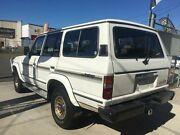 1989 Toyota Landcruiser FJ62 GX White Manual Wagon Clontarf Redcliffe Area Preview