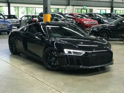 2016 Audi R8 4S Coupe 2dr S tronic 7sp quattro 5.2i [MY17] Black Sports Automatic Dual Clutch Coupe Port Melbourne Port Phillip Preview