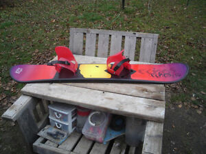 Excellent Condition: H2O Snowboard With Bindings