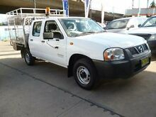 2005 Nissan Navara D22 Series 2 DX 4x2 White 4 Speed Automatic Dual Cab Pick-up Holroyd Parramatta Area Preview
