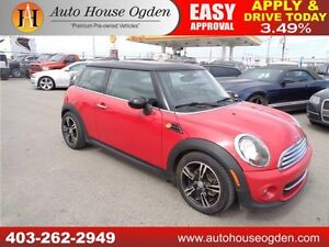 2012 MINI Cooper LEATHER PAN SUNROOF