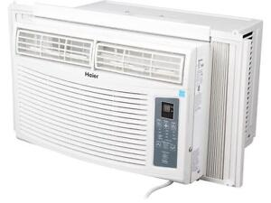 Haier 8000 BTU Window Air Conditioner (AC), as is.