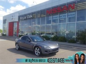 2006 Mazda RX-8 GT with Navigation ** LOW Kilometers **