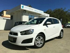 2015 Holden Barina TM MY15 CD White 6 Speed Automatic Hatchback Southport Gold Coast City Preview