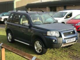 Land Rover Freelander TD4 Freestyle Estate DIESEL MANUAL 2006/06