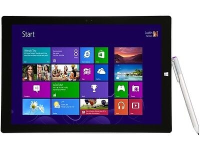 "Microsoft Surface Pro 3 12"" Tablet with Intel Core i3-4020Y 1.5Ghz, 4GB RAM, 64G"