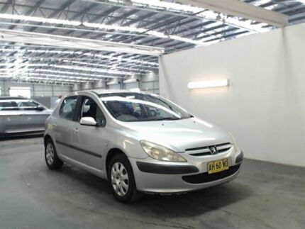 2004 Peugeot 307 1.6 Silver 4 Speed Automatic Hatchback