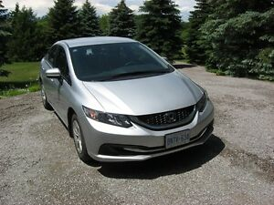 2015 Honda Civic LX Sedan   lease takeover