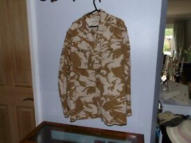 Military issue Desert camouflage jacket size 42-44 inch chest