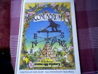 """THE CADBURY'S CREME EGG MYSTERY CONUNDRUM"" - RETRO/VINTAGE BOOK - 1984"