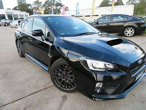 2014 Subaru WRX V1 MY15 STI AWD Black 6 Speed Manual Sedan Glendale Lake Macquarie Area Preview