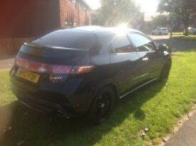 Honda civic cdti 2.2, car in good condition, remapped stage 1, full sports exhaust.