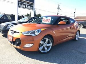 2014 Hyundai Veloster Hatcback / BACKUP CAM / SPORTY / LOW KMS!