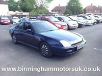 2000 (W Reg) Honda Prelude 2.0 2000 SPORT AUTOMATIC 2DR Coupe BLUE + LOW MILES