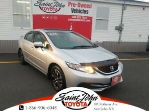 2014 Honda Civic EX with SUNROOF $143.27 BIWEEKLY!!!